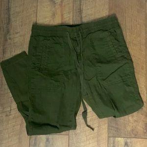 Lou & Grey army green cargo pants